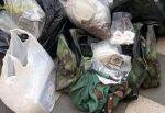 Maxi centrale di droga in un cimitero del Catanese, sequestrati oltre 70 Kg. tra marijuana, hashish e cocaina: arrestati due uomini