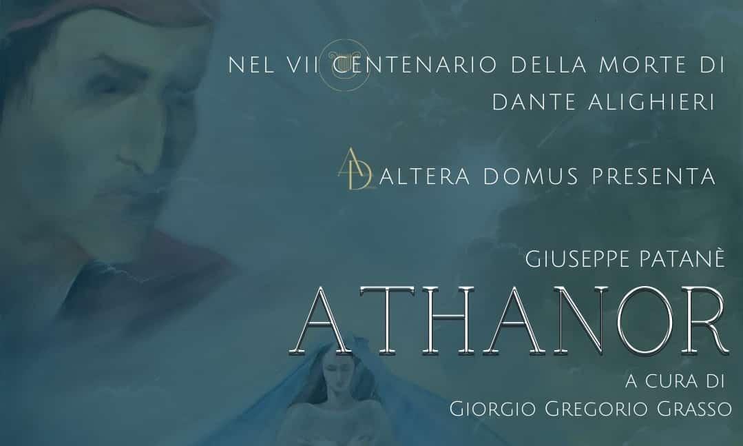 Athanor di Giuseppe Patanè in mostra a Noto nel VII centenario della morte di Dante Alighieri