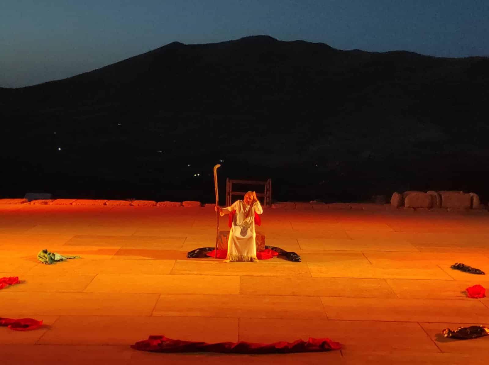 Si conclude il tour Edipo Re di Salvatore Guglielmino, tra applausi e standing ovation finale