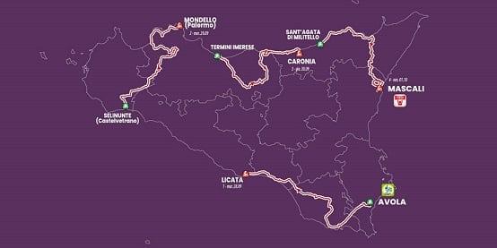 Giro di Sicilia, grandi nomi del ciclismo percorreranno l'isola: c'è anche Nibali che punta alla vittoria