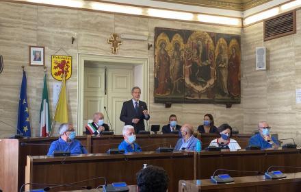 """Licata, Musumeci in visita ufficiale: """"La lotta al dissesto idrogeologico una priorità"""""""