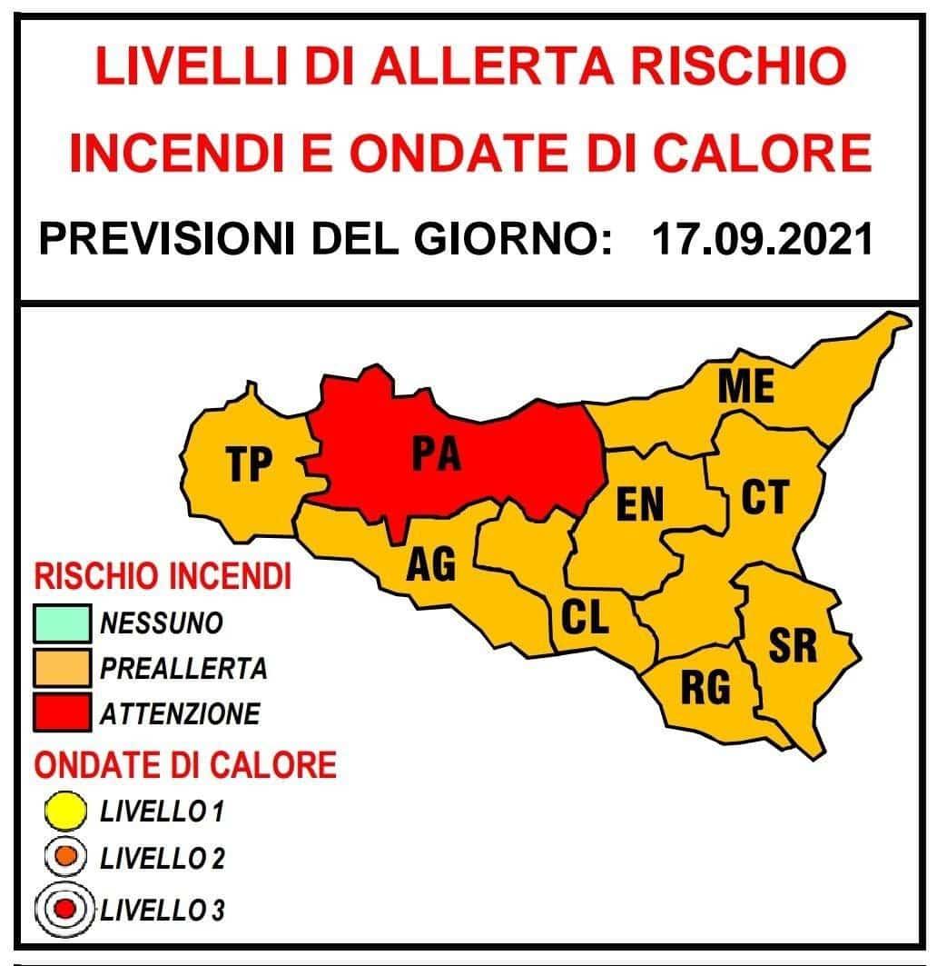 Meteo, in Sicilia è di nuovo estate: domani allerta rossa per rischio incendi