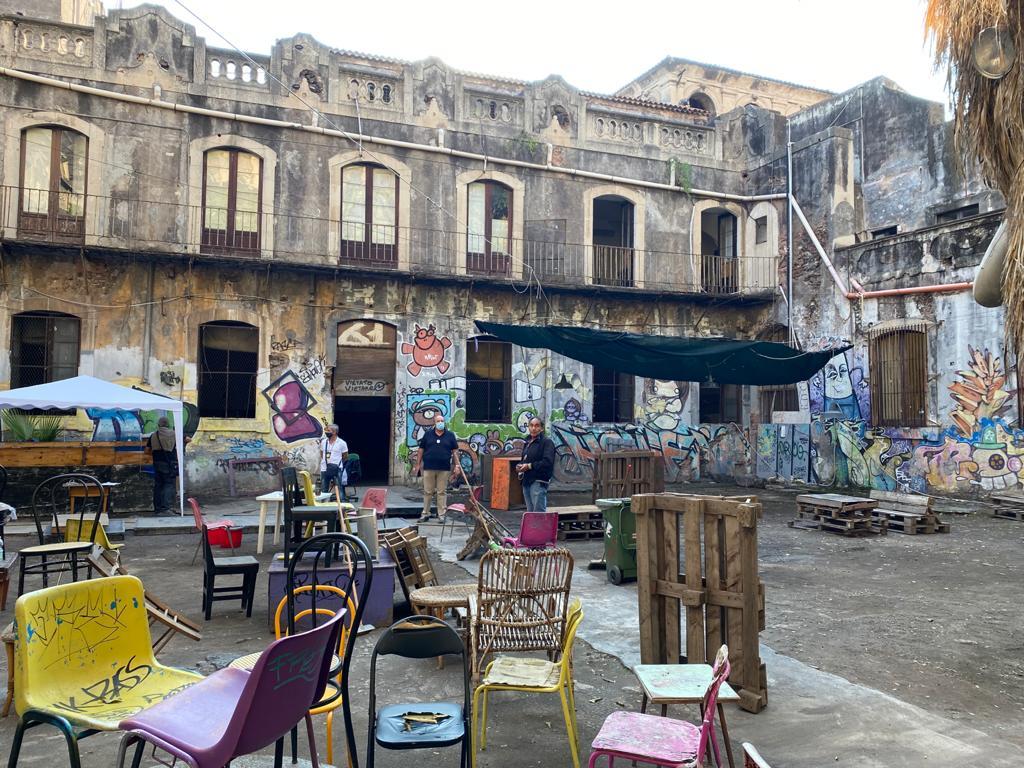 Catania, dopo anni torna al patrimonio pubblico l'ex Monastero Sant'Agata: sgomberato centro sociale