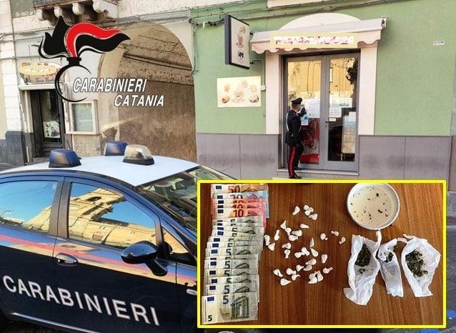 Arrestato gestore di un noto bar del Catanese, droga e tavola calda in via Vittorio Emanuele