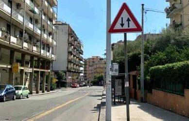 """Catania, Comitato Vulcania: """"Bisogna rettificare la segnaletica orizzontale e verticale in via Torino"""""""