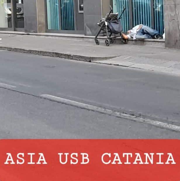 Catania, cresce il numero dei senza casa che dormono per strada