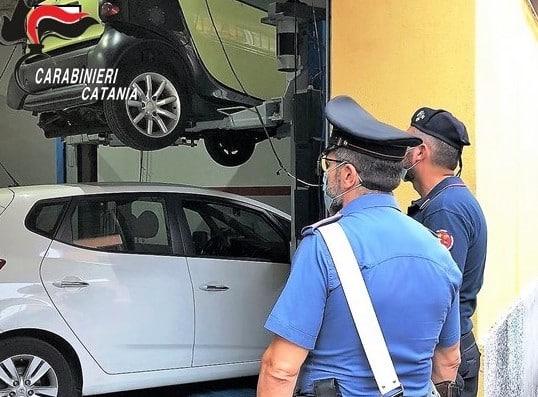 Sequestrata officina meccanica di Picanello