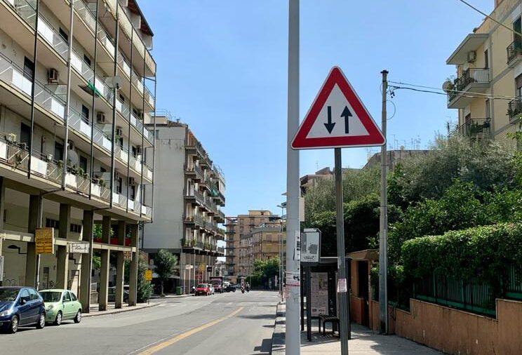 Catania, svolta per la viabilità in via Torino: ecco il nuovo senso di marcia