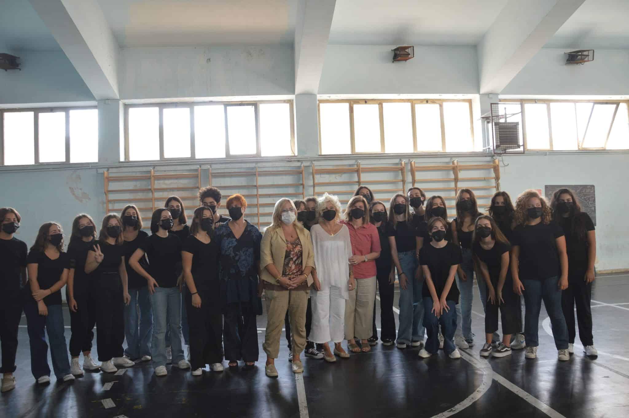 """Prova conclusiva del """"Corso base di teatro"""" al liceo """"N. Spedalieri"""": alla scoperta di sé  e dell'altro"""