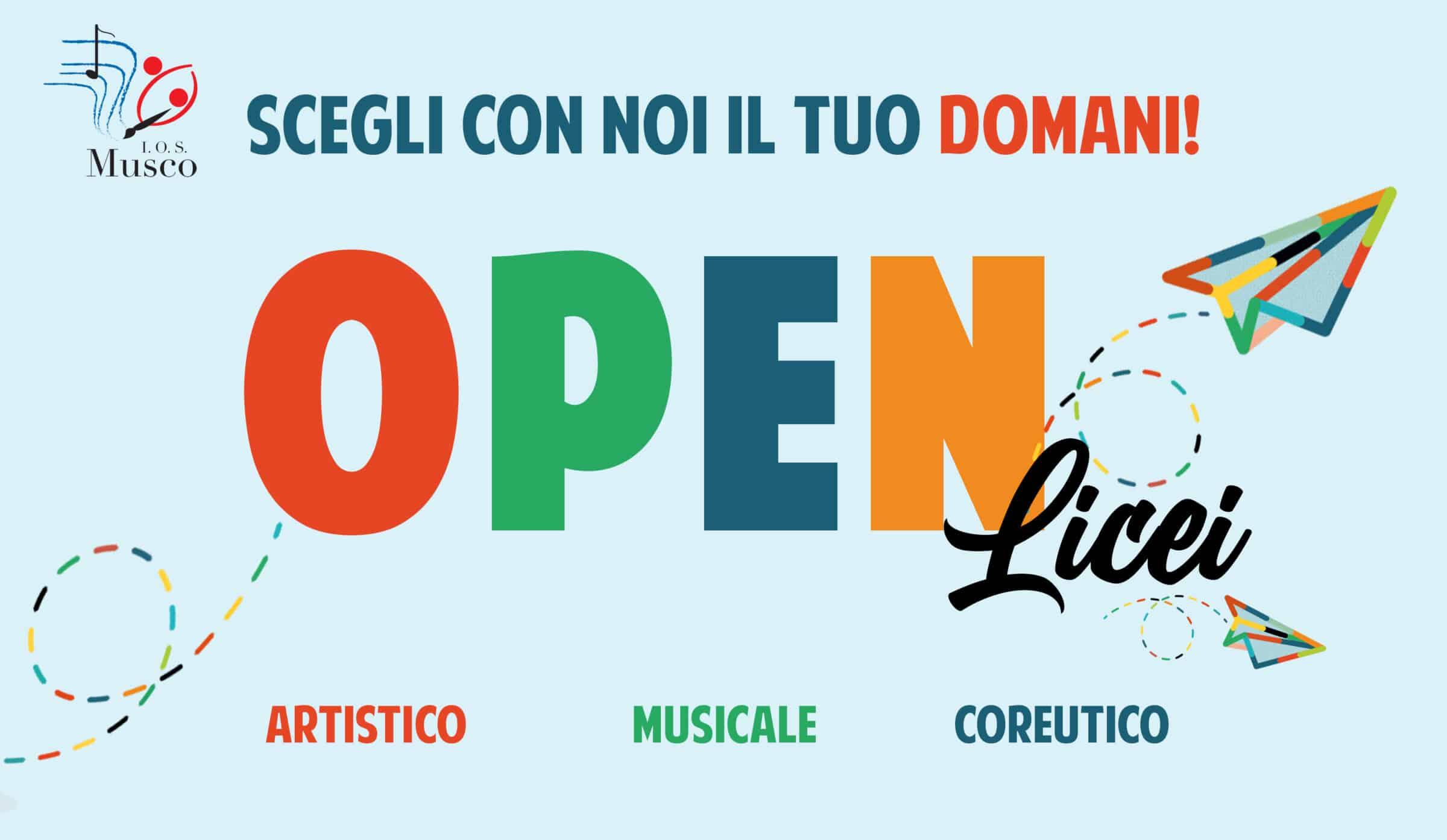 """Orientamento all'I.O.S. """"Angelo Musco"""" di Catania, un giorno al Liceo per famiglie e studenti"""