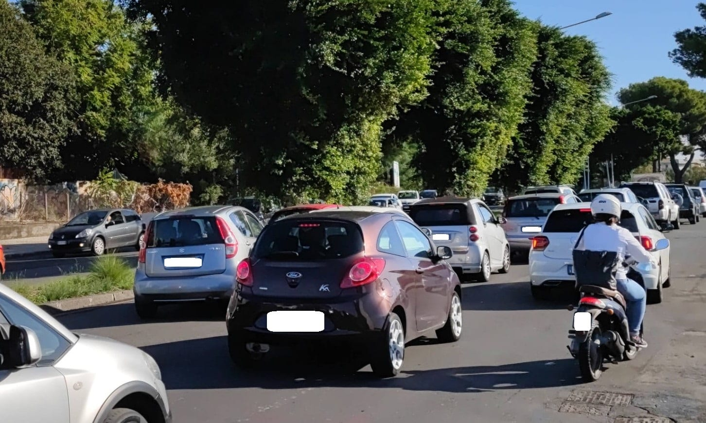 """Traffico impazzito lungo la circonvallazione di Catania, chiesti provvedimenti. Buceti: """"Serve piano viario adeguato"""""""
