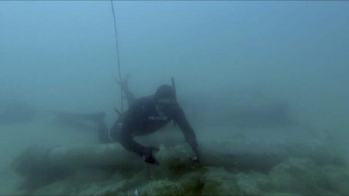 Cannone del XVI secolo ritrovato nelle acque di Maddalusa Agrigento (1)