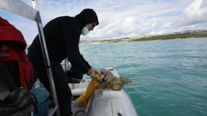 Cannone del XVI secolo ritrovato nelle acque di Maddalusa Agrigento (2)