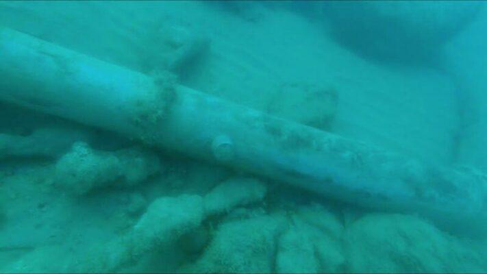 Cannone del XVI secolo ritrovato nelle acque di Maddalusa Agrigento (4)
