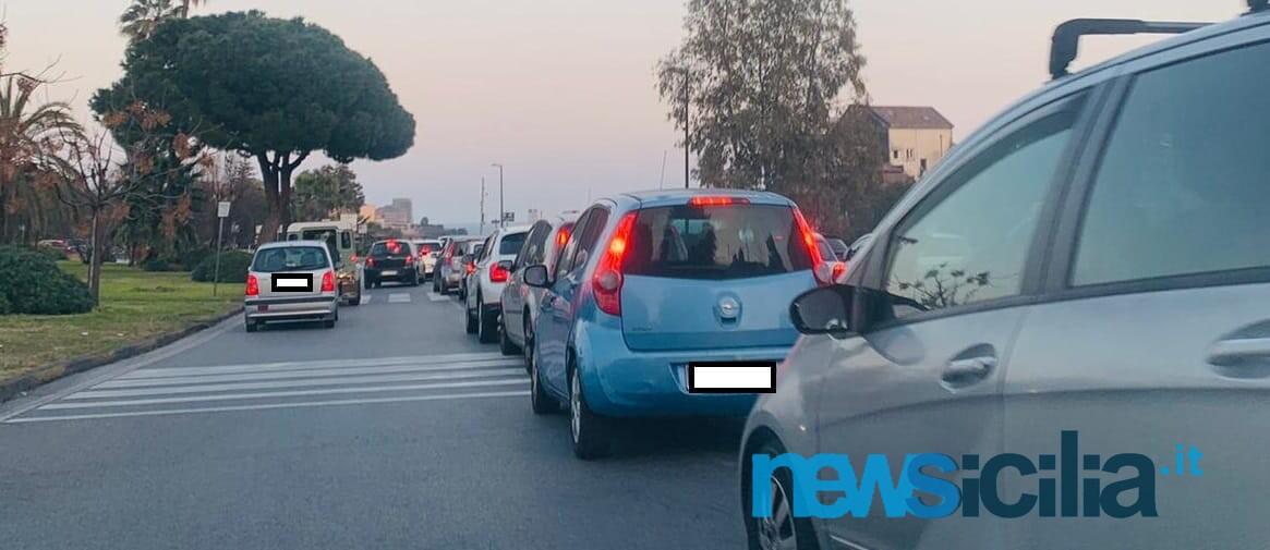 Confusione circonvallazione Catania 27 febbraio 2021 2