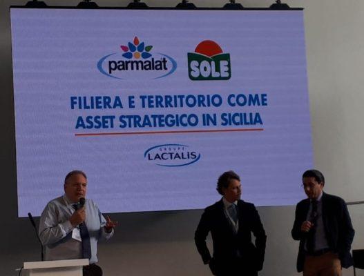 Da sinistra: Giovanni Pomella, Giuseppe Ignizio e Salvo Fallica.