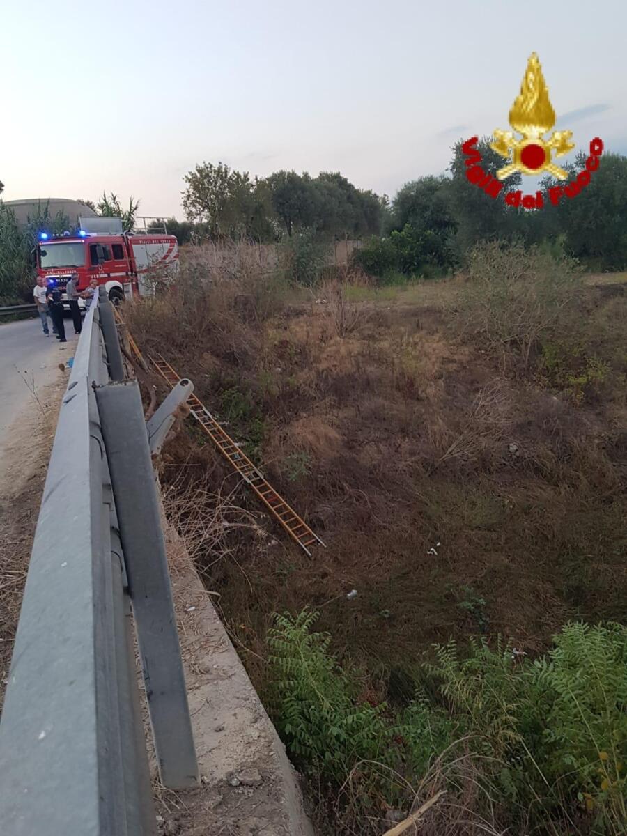 Incidente contrada Cozzo Pantano Siracusa (1)