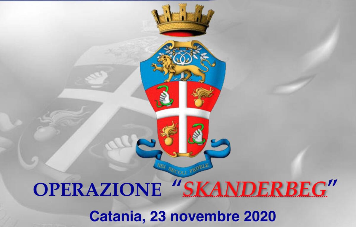 Operazione antimafia Catania