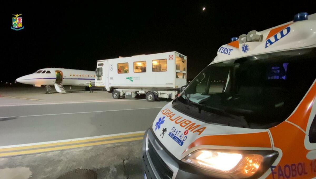Trasporto Sanitario Urgente Catania Roma Aeronautica Militare 3