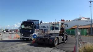 Manifestazione porto di Catania