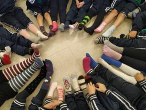 Giornata dei calzini spaiati…