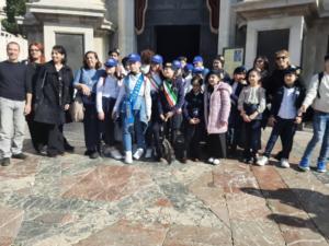 """CCRR del """"Marconi"""" presenti alla processione della cera e corteo della Carrozza del Senato"""