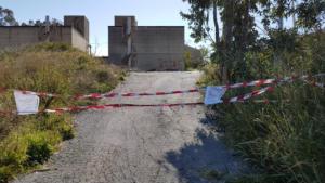 Forte Schiaffino-area sequestrata