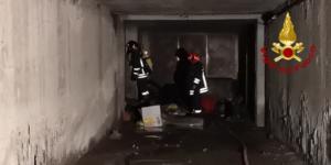Incendio Viale Nitta