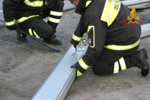 Emergenza post terremoto di Santo Stefano: l'efficienza operativa dei vigili del fuoco - VIDEO e FOTO