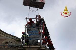 Terremoto di Santo Stefano, continuano le operazioni dei pompieri: in sicurezza chiesa del Sacro Cuore