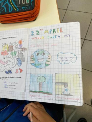 """L'I.C. """"Giuseppe Fava"""" di Mascalucia celebra l'Earth Day"""