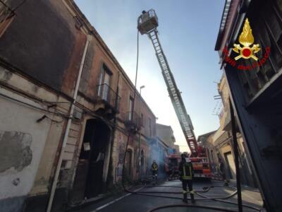 Incendi a Catania 30 luglio (1)