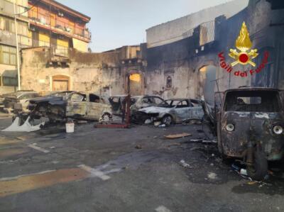 Incendi a Catania 30 luglio (12)