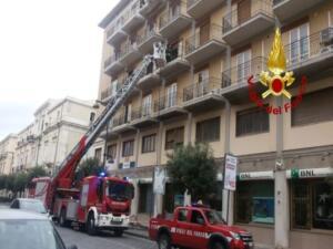 Incendio via Giuseppe Maieli 1