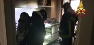 Incendio via Giuseppe Maieli 2