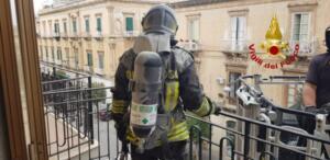 Incendio via Giuseppe Maieli 3