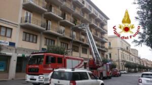 Incendio via Giuseppe Maieli 4