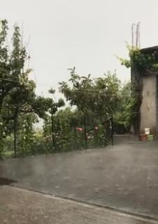 Pioggia a Braidi 30 maggio