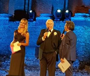 Pippo Buado con Salvo La Rosa e Chiara Esposito