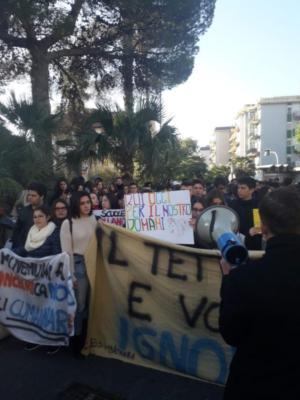 Protesta san g la punta 13