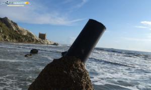Punta Bianca - Scoglio danneggiato (1)