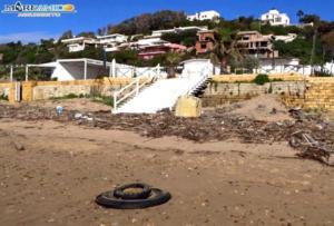 Rifiuti spiaggia San Leone (4)