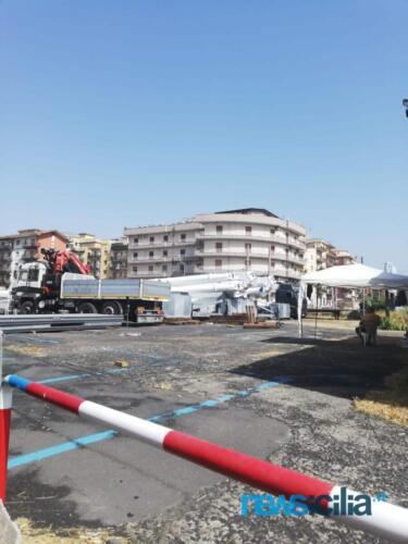 Costruzione Ruota panoramica Catania
