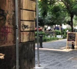 Via Orsini liquami 2