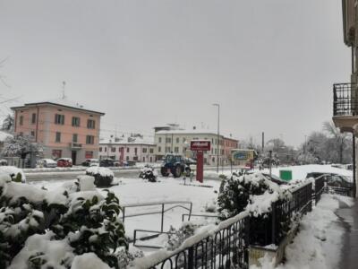 Nevicata a Milano e provincia