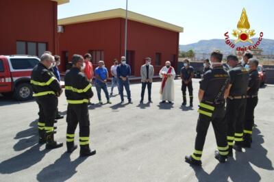 Apertura del Distaccamento dei vigili del fuoco di Palagonia