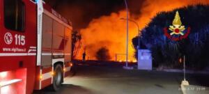 Incendio via Elorina 2