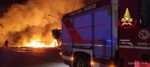Incendio via Elorina 3
