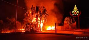 Incendio via Elorina 4