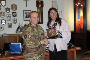 thumbnail_Colonnello Aurelio Costa e assessore Barbara Mirabella